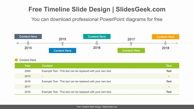 Simple-table-timeline-PowerPoint-Diagram-Template feature image