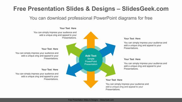 Six-radial-arrows-PowerPoint-Diagram-Template feature image
