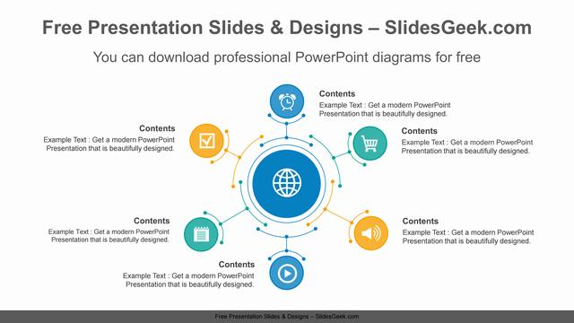 Six-radial-circles-PowerPoint-Diagram-Template feature image