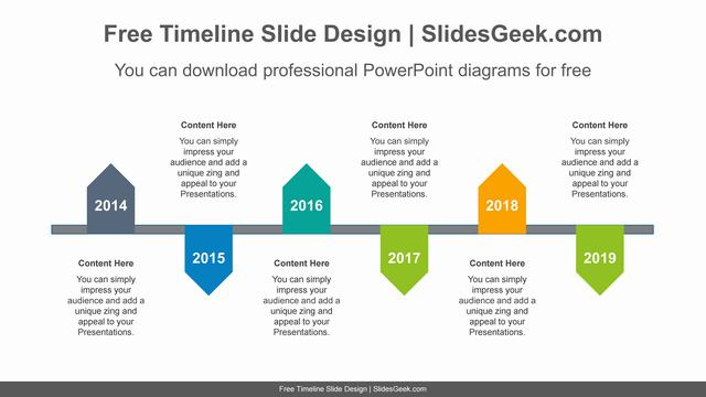 Zigzagged-pentagon-PowerPoint-Diagram-Template feature image