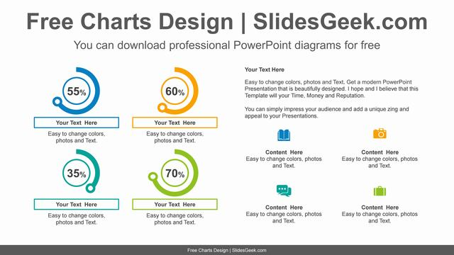 Icon-doughnut-charts-PowerPoint-Diagram feature image
