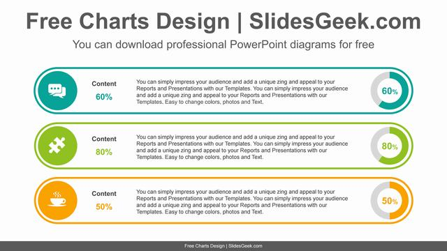 List-form-doughnut-charts-PowerPoint-Diagram-Template feature image