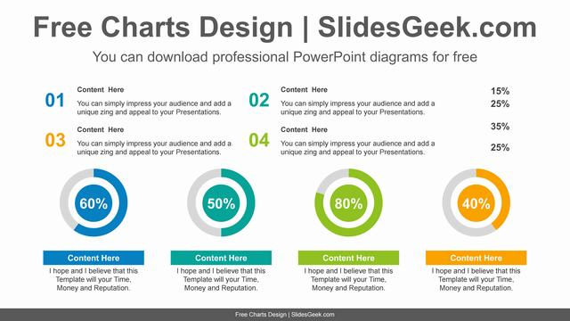 Numbering-doughnut-charts-PowerPoint-Diagram-Template feature image