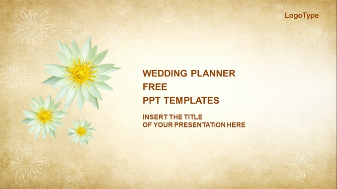 Wedding Planner Free PowerPoint Presentation Template Feature Image _wowTemplates.in